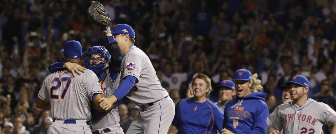 Mets Barrieron A Cubs Y Están En La Serie Mundial