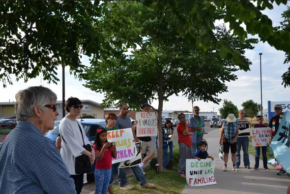 Protestan En Denver Por Mejores Condiciones Para Indocumentados En Cárceles