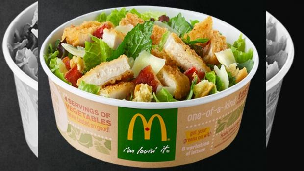 Ensalada De McDonald's Tiene Más Calorías Que Una Big Mac