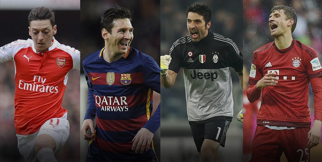 Duelos Espectaculares En Champions League