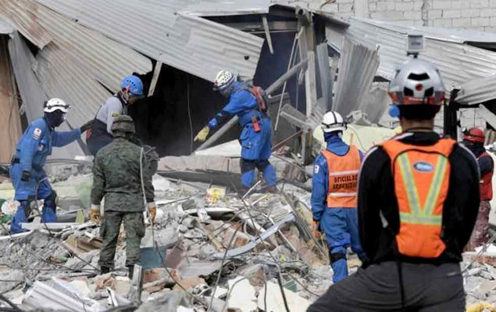 Suman 570 Muertos Por Sismo En Ecuador