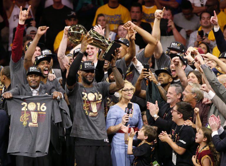 Los Cavaliers Hacen Historia Y Ganan El Título De La NBA