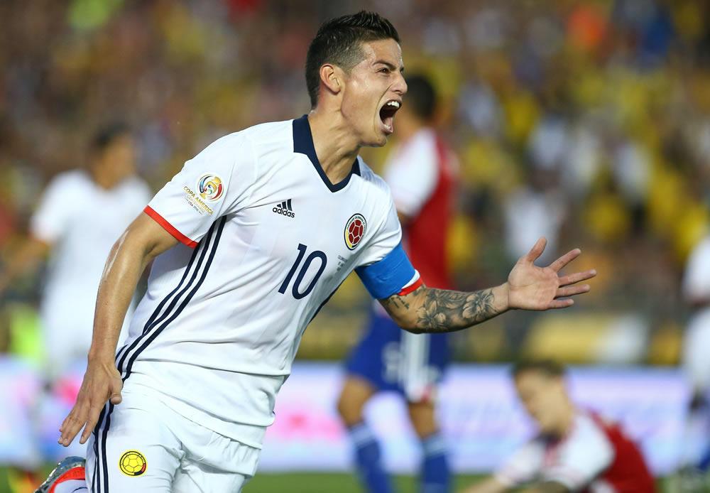 Colombia, En Cuartos De Copa América