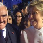Vicente Fernández recibió mensaje de Hillary Clinton