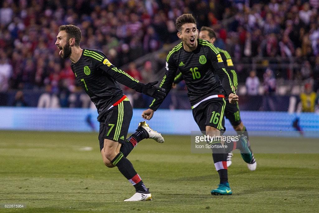 México Vence A Estados Unidos En Eliminatorias