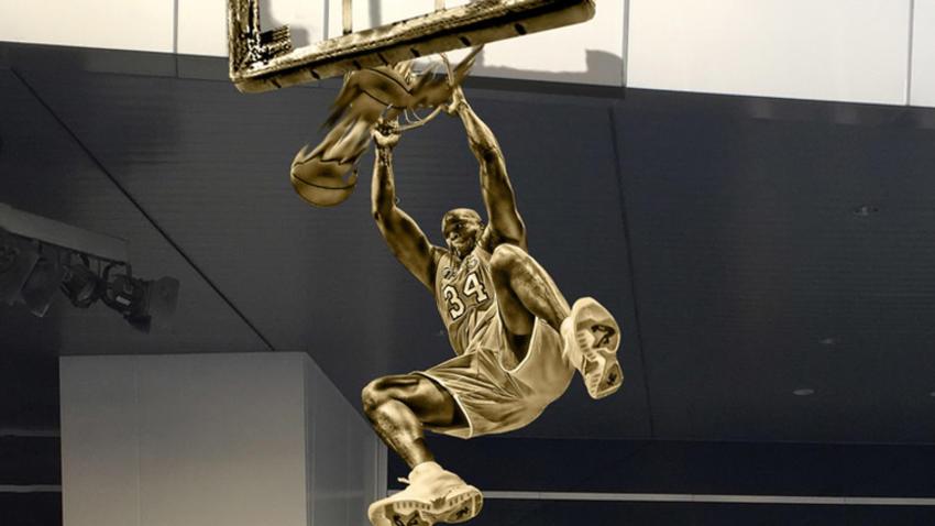 Lakers Develarán Estatua En Honor A Shaq