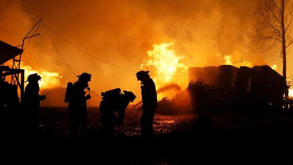Los Peores Incendios De La Historia No Dan Tregua En Chile: Murió Otro Bombero Y Son 10 Las Víctimas Fatales