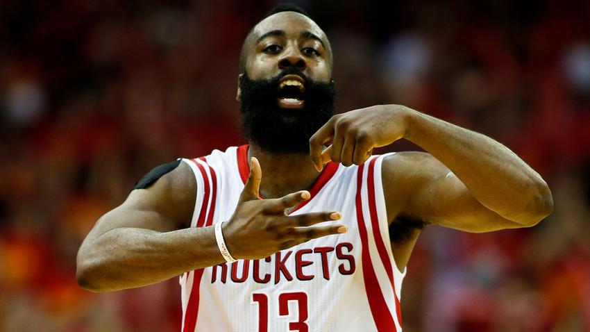 James Harden Hizo Histórico Juego Con Los Houston Rockets
