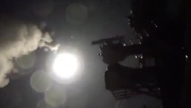 EU Libera Imágenes De Los Misiles Lanzados Contra Siria