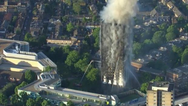Se Eleva A 17 Cifra De Muertos Por Incendio En Edificio De Londres