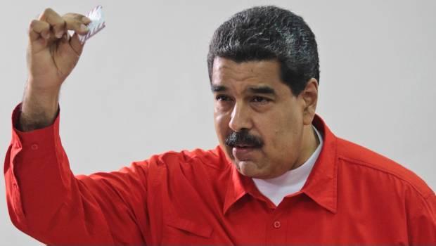 Maduro Llegó A Votar Y Encontró Que ¡no Existe En Venezuela!