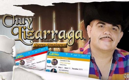 """Chuy Lizárraga Llega A La Cima De Los Charts Con """"Casada O No"""""""