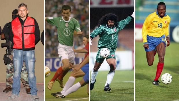 Además de Rafa Márquez, estos futbolistas han sido vinculados con el narcotráfico