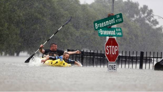 'Harvey' Causa Estragos E Inundaciones En Houston
