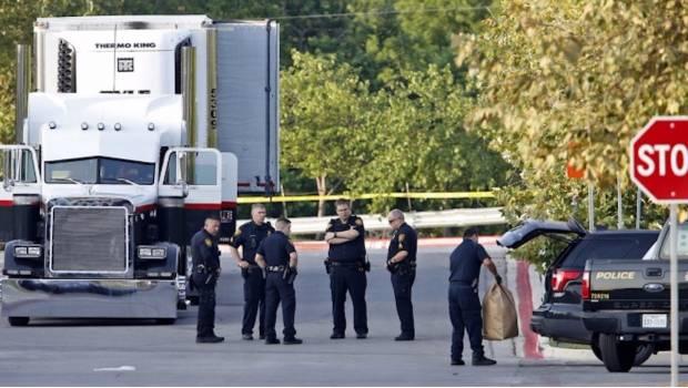 Se Eleva A 8 El Número De Mexicanos Fallecidos Dentro De Tráiler En Texas