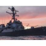 Se estrella navío de guerra de EU: hay 10 desaparecidos