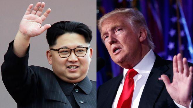 La amenaza de Trump a Corea fue improvisada