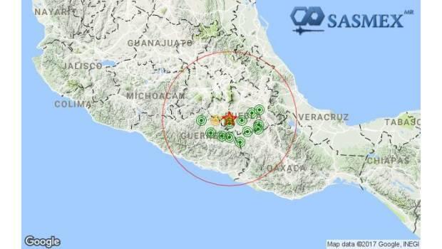 Epicentro Del Sismo De 7.1 Fue En Morelos