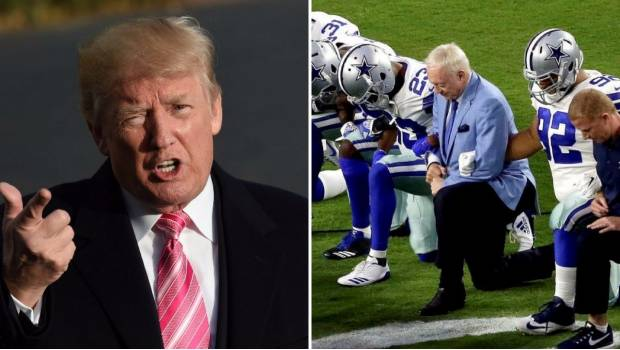 Trump Asegura Que Jugadores De La NFL Permanecerán En Vestuarios Durante El Himno