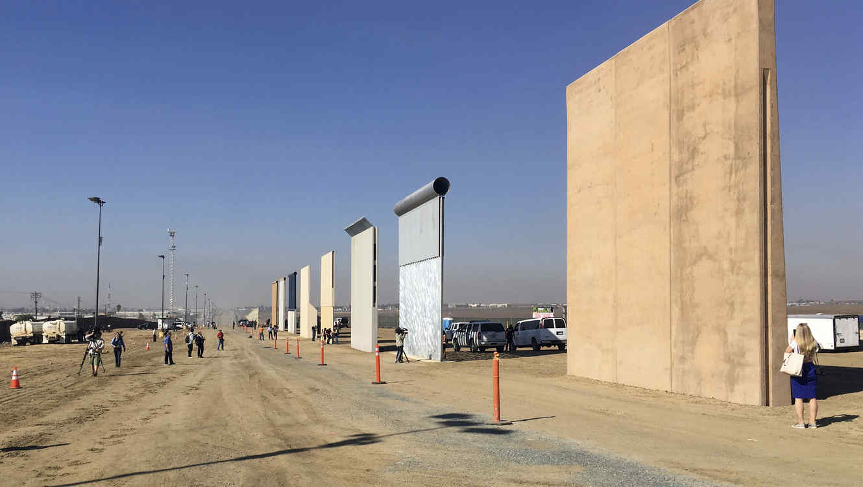 Trump: Urge La Construcción Del Muro