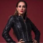 Con sensual pose, Ninel Conde promociona su sencillo 'Tú no vales la pena'
