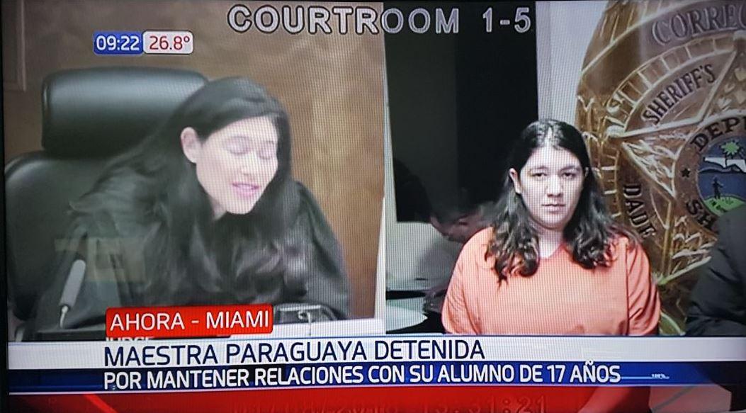 Acusan A Maestra De Miami De Tener Sexo Con Alumno