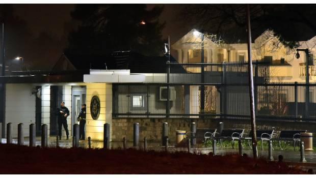 Arrojan Granada Contra Embajada De EU En Montenegro