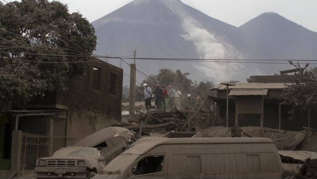 Nuevamente Se Activa El Volcán De Fuego De Guatemala Tras Erupción
