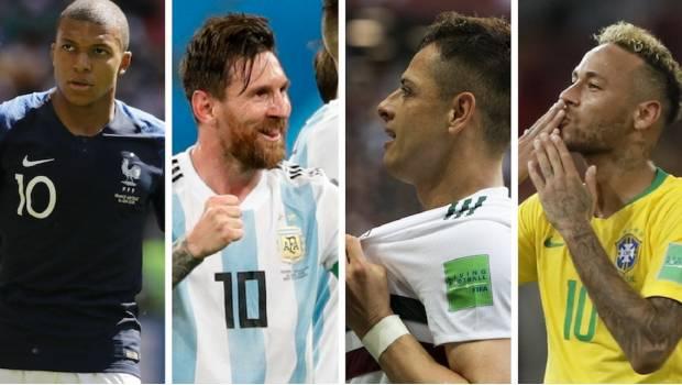 ¡Listos Los Octavos De Final De Rusia 2018! Argentina-Francia Y México-Brasil Los Más Atractivos
