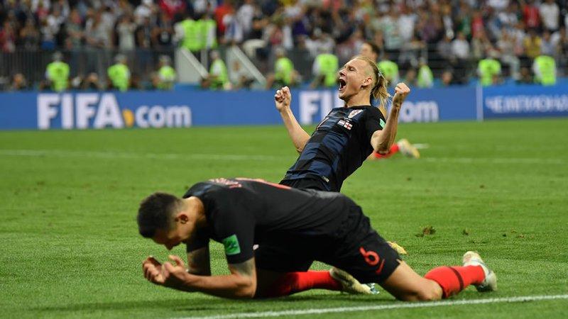 ¡Histórico! Croacia Remonta A Inglaterra Y Es Finalista En Rusia 2018