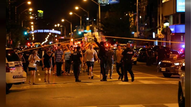 Tiroteo En Toronto Deja Nueve Heridos; El Atacante Murió