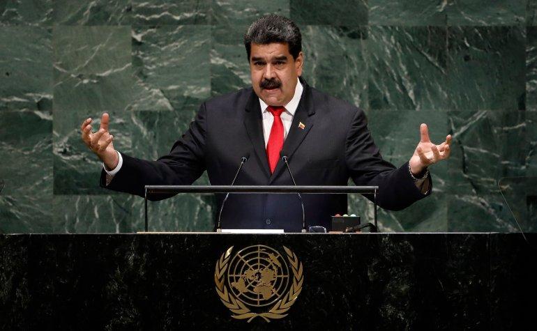 MADURO DICE EN LA ONU QUE ESTÁ DISPUESTO A DIALOGAR CON TRUMP