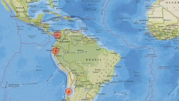 Cadena De Sismos Sacude A Panamá, Ecuador Y Chile En Menos De Una Hora