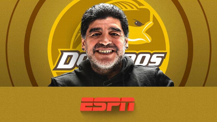 Oficial: Diego Armando Maradona Es Entrenador De Dorados