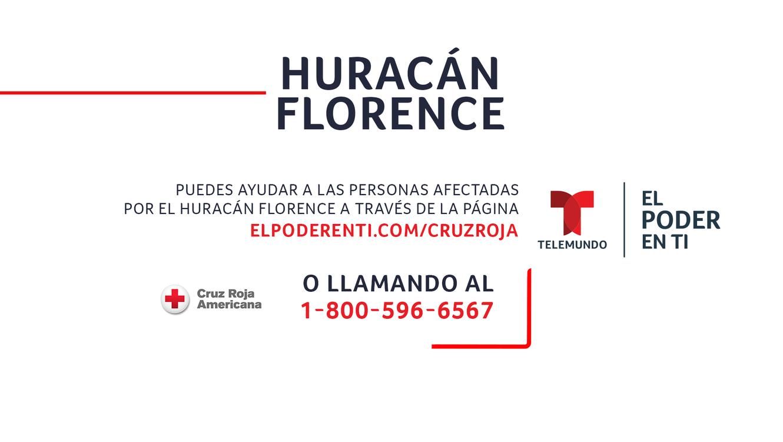Información Para Apoyar A Los Afectados Por El Huracán Florence
