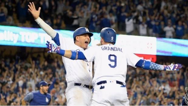 Dodgers Empatan Serie De Campeonato Tras Sacar Agónico Triunfo