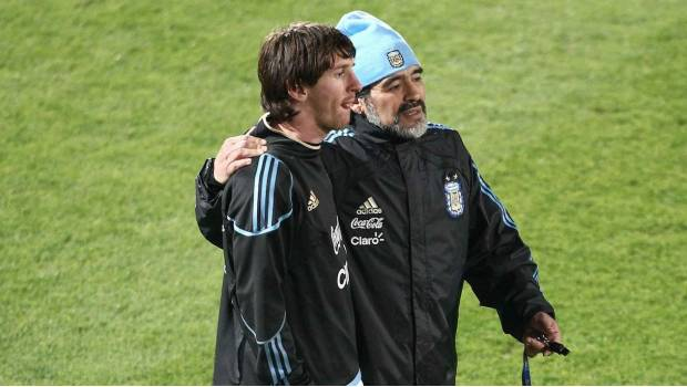 Maradona Le Pide A Messi Que Se Retire De La Selección Argentina