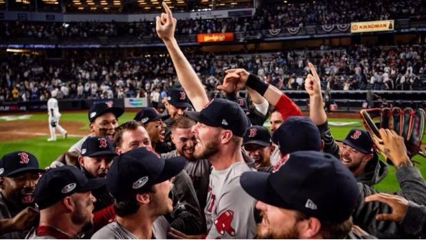 Medias Rojas Vencen A Yankees Y Disputarán Serie De Campeonato Ante Astros