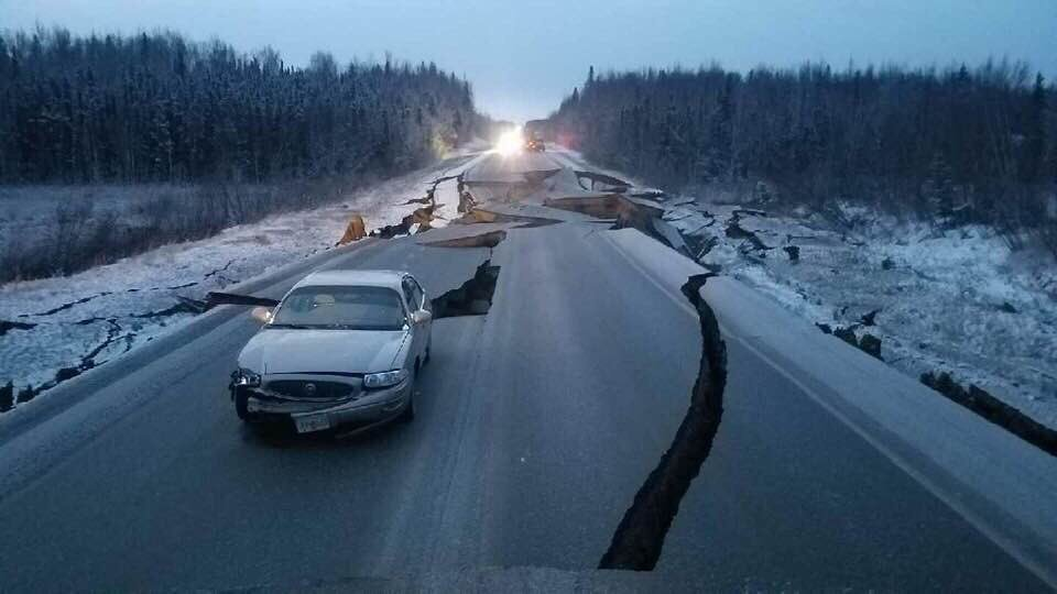 Fuerte Sismo De 7.0 Sacude Alaska, Hay Riesgo De Tsunami