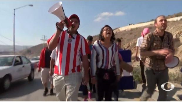 Migrantes Centroamericanos Exigen Soluciones En Consulado De EU En Tijuana