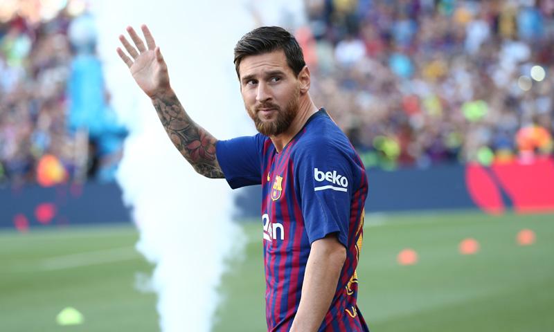 ¡Leo Messi Disfrutó De La Final De La Copa Libertadores!