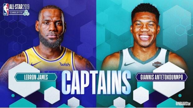Revelan Alineaciones Para El Juego De Estrellas De La NBA