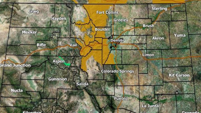 Emiten Aviso De Fuertes Vientos En Alrededores De Denver