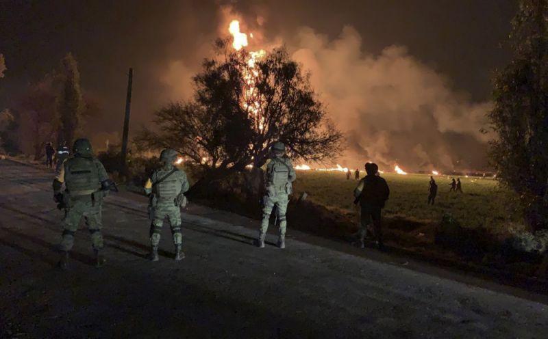 Hasta El Momento Han Fallecido 66 Personas Al Estallar Gasoducto Perforado En México