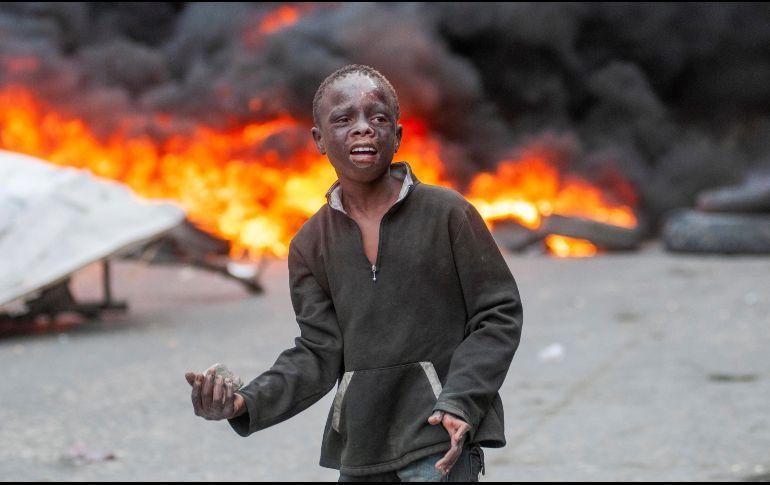 Haitianos Exigen La Renuncia De Su Presidente