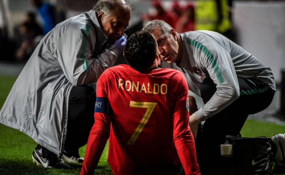 Cristiano Ronaldo Estará Fuera 3 Partidos Y Estará Listo Para Champions