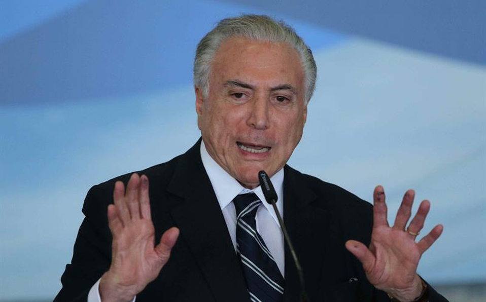 Detienen Al Ex Presidente De Brasil, Michel Temer, Por Caso Lava Jato