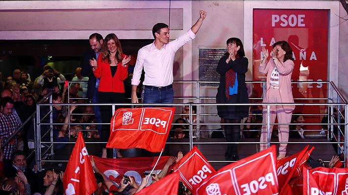 PSOE, Partido De Izquierda, Gana Elecciones En España