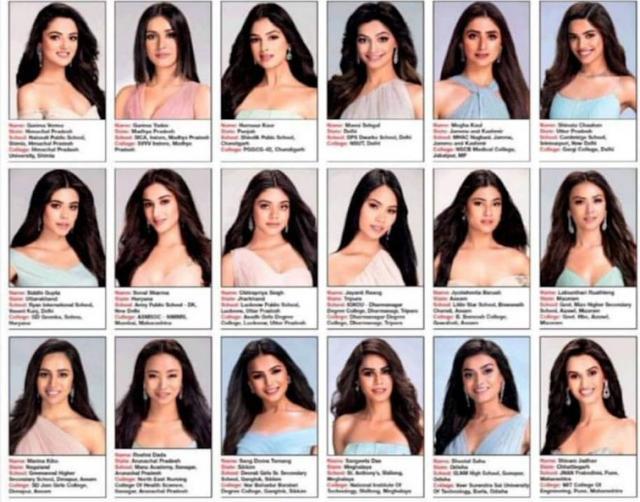 Algo Falla Entre Las Candidatas A Miss India Que Indigna Sobremanera