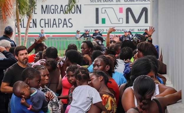 Entrega EU A México Más De 11 Mil Centroamericanos